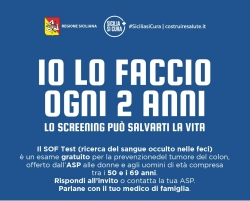 Lo screening può salvarti la vita