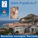 Cefalù, neo vescovo Marciante sabato 14 in visita al Giglio