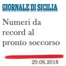 Numeri da record al Pronto Soccorso